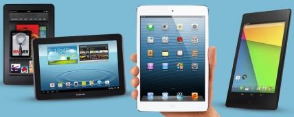 New Generation Nexus 7 vs Amazon Kindle Fire vs iPad Mini vs Samsung Galaxy Tab 3