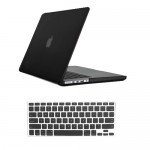 Rubberized Hard Case for MacBook Pro® 15 Retina Black