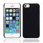 Leather Hard Case for Apple® iPhone® 5 5s Black