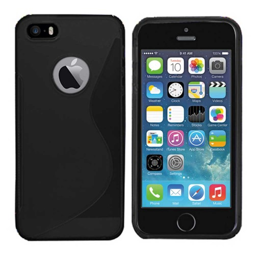 TPU Soft case for Apple® iPhone®  5 5s Black