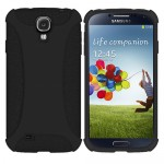 Amzer Black Soft Case Cover For Samsung Galaxy S©4