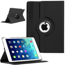 Rotating Magnetic Leather Smart case for iPad® Air Black