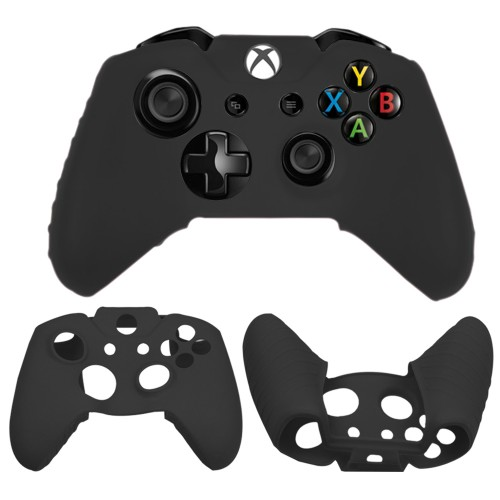 Soft silicone gel case for Microsoft®  Xbox®  One controller black