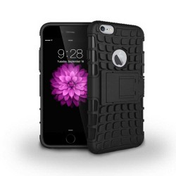 Grenade hybrid two layer case for iPhone® 6 Black