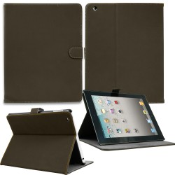 Luxury Leather Smart Case for Apple ipad mini Coffee