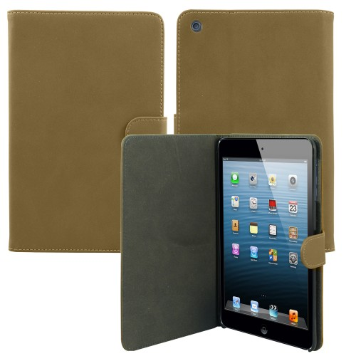 Luxury Leather Smart Case for Apple® ipad® 2 3 4 Light Brown