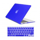 for MacBook air® 11 inch rubberized hard case cover -  royal blue