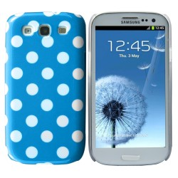 blue white plastic hard case cover for Samsung Galaxy s©3