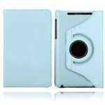 pu leather hard case cover for Google™ Nexus™ 7 blue