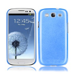 Blue TPU Ultra Thin Hard Case Cover For Samsung Galaxy S© 3
