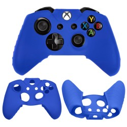 Soft silicone gel case for Microsoft® Xbox® One Controller Blue
