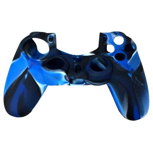 Silicone Protective Grip Skin Case for Sony® PS4™ Game Controller Blue