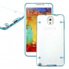 Luminous Glow Hard Back Case for Samsung Galaxy Note 3 Blue