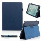 PU Leather Folio Stand Case For Apple® iPad Air® Blue