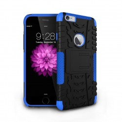 hybrid rugged two layer case for iPhone® 6 Blue