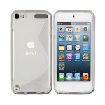 TPU soft case cover for apple® iPod touch® clear