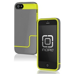 Incipio hard case for Apple® Iphone® 5 5s Gray & Yellow