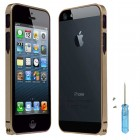 Ultra Thin Aluminum Metal Bumper Case For iPhone® 5 5S Gold