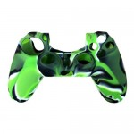 Silicone Protective Grip Skin Case for Sony® PS4™ Game Controller Green