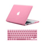 Rubberized Hard Case for Macbook Pro® 13 Pink
