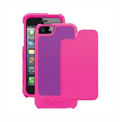 trident apollo pink purple hard case cover for apple® iPhone® 5 5S