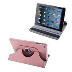 PU leather case cover for apple ® iPad ® mini pink