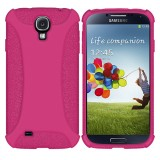Amzer Hot Pink Case Cover For Samsung Galaxy S©4