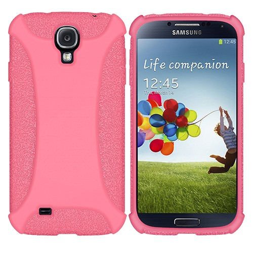 Amzer Baby Pink Soft Case Cover For Samsung Galaxy S©4