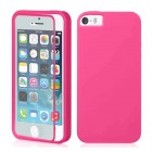 TPU Wrap Up Case for iPhone® 5S 5 with Built In Screen Protector Pink