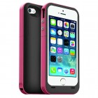 2500mAh Power Bank Battery Charger Case for iPhone 5S Pink