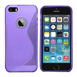TPU Soft Case for Apple® iPhone® 5 5s Purple