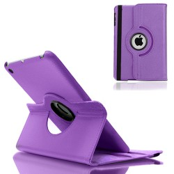 PU leather case cover for apple ® iPad ® mini purple
