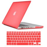 Rubberized Hard Case for MacBook Pro® 13 Red