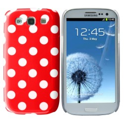 red white crystal hard case cover for Samsung Galaxy s©3