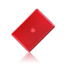 Crystal Hard Case for Macbook Pro® 13 Retina Red