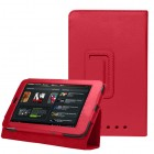 PU Leather Stand Case Cover For Google Nexus 7 Red