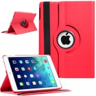 Rotating Magnetic Leather Smart case for iPad® Air Red
