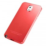 Luxury Ultra Thin Metal Case Cover for Samsung Galaxy Note™ 3 Red