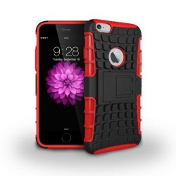 Grenade hybrid two layer case for iPhone® 6 Red