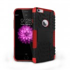 hybrid rugged two layer case for iPhone® 6 Red