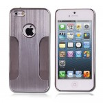 Luxury Chrome Case for Apple® iPhone® 5 5s Silver