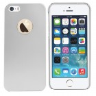 Metal Aluminum Matte Hard Case For Apple® iPhone® 5 5S Silver