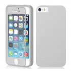 TPU Wrap Up Case for iPhone® 5S 5 with Built In Screen Protector White