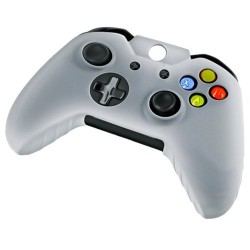 Soft silicone gel case for Microsoft® Xbox® One controller Clear