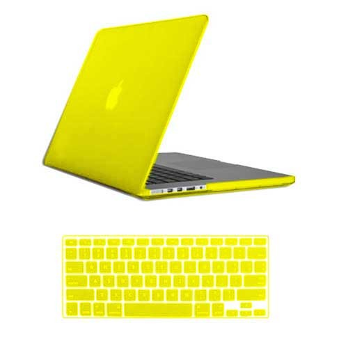 Rubberized Hard Case for Macbook Pro® 15 Retina Yellow