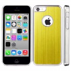 Luxury Aluminum Chrome Hard Case For Apple® IPhone® 5C Yellow