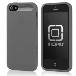 incipio ngp grey silicone case cover for apple® iphone® 5