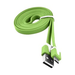 6 ft Flat Micro USB Data Cable for Samsung Galaxy S©5 Green