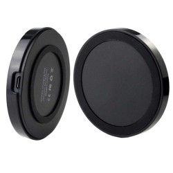 Qi Wireless Power Pad Charger for Samsung Galaxy S©5 Black