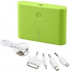Universal 12000mAh Battery Power Bank USB Portable Charger For Cell Phone Green
